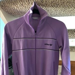 RARE Vintage warm-up jacket in lilac women's S/M